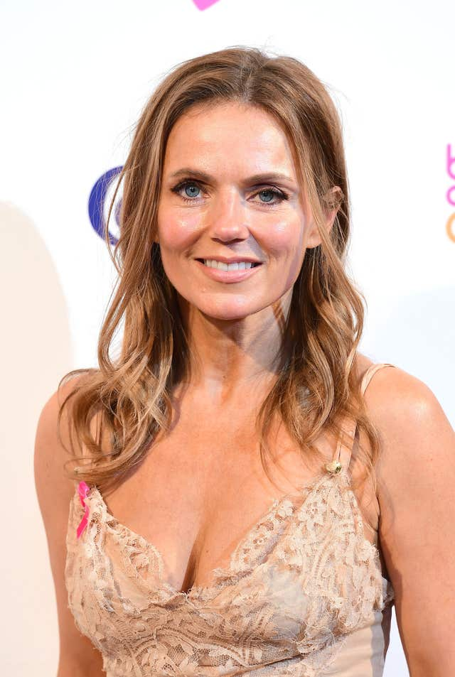Geri Horner on the red carpet