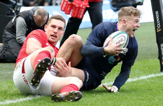 Darcy Graham's try was the highlight against Wales