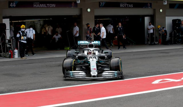 Lewis Hamilton could win the title in Mexico