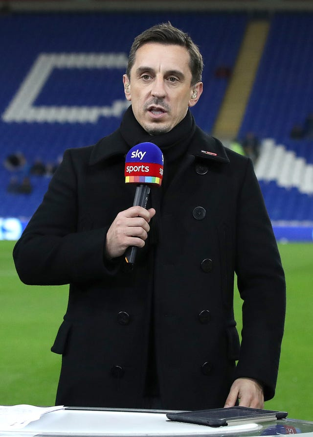 Gary Neville gave his thoughts following United's draw at Huddersfield