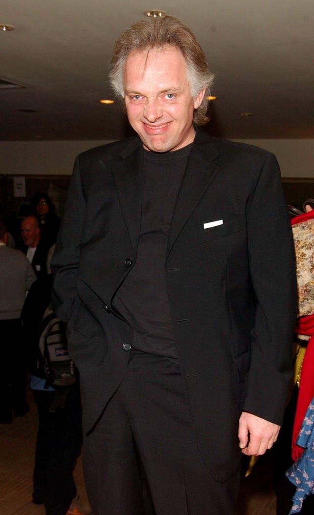 Rik Mayall at an awards show
