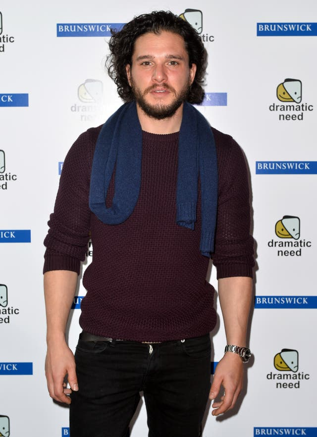 Kit Harington on the red carpet