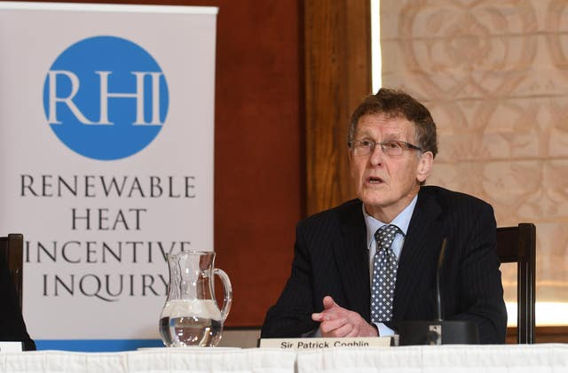 Renewable Heat Incentive inquiry