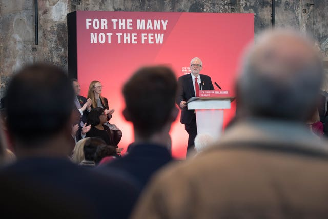 Jeremy Corbyn kicks off the Labour Party's General Election campaign