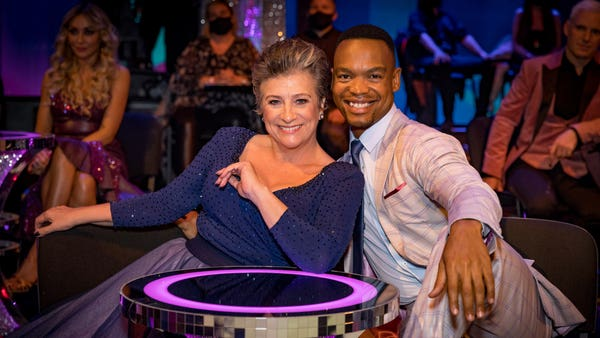Caroline Quentin 'stunned' not to lose weight on Strictly