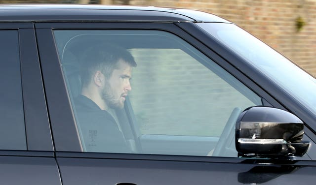 Midfielder Eric Dier arrives at Hotspur Way for Jose Mourinho's first training session as Tottenham manager