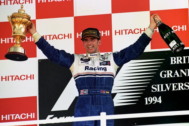 On this day in 1994: Damon Hill wins British Grand Prix