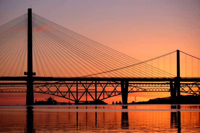 Three Forth bridges