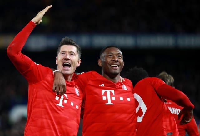 Chelsea v Bayern Munich – UEFA Champions League – Round of 16 – First Leg – Stamford Bridge
