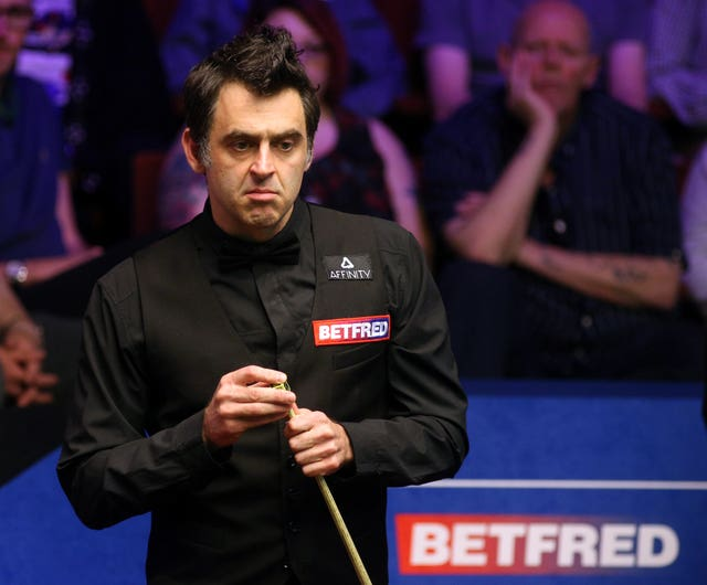 Ronnie O'Sullivan enjoys playing in China (Nigel French/PA)