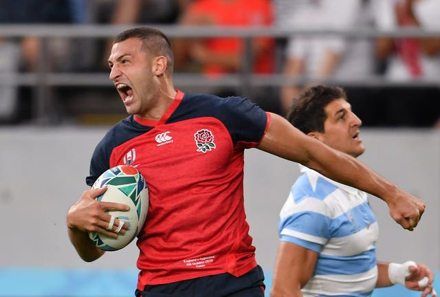 Jonny May is confident in England's World Cup chances