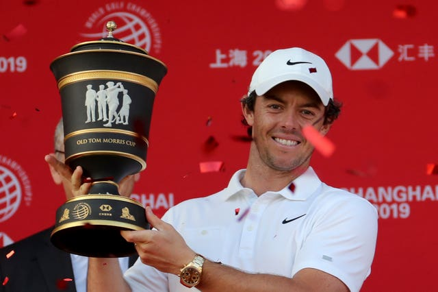 Northern Ireland's Rory McIlroy edged out Xander Schauffele in a play-off to win the WGC-HSBC Champions in Shanghai