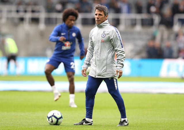 Gianfranco Zola has been helping the midfielder