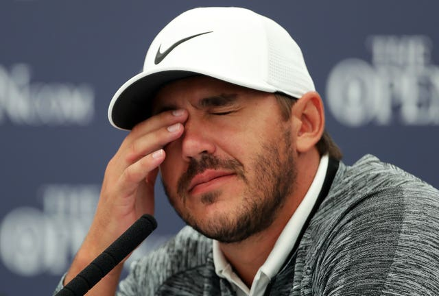 Koepka missed the Masters with a wrist injury.