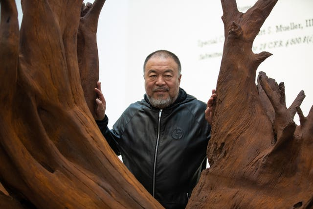 Chinese dissident artist Ai Weiwei is taking part