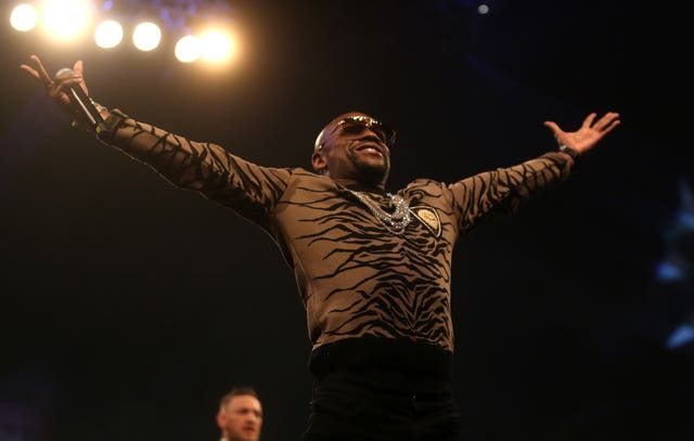 Floyd Mayweather has made a high-profile appearance at Wrestlemania (Scott Heavey/PA)