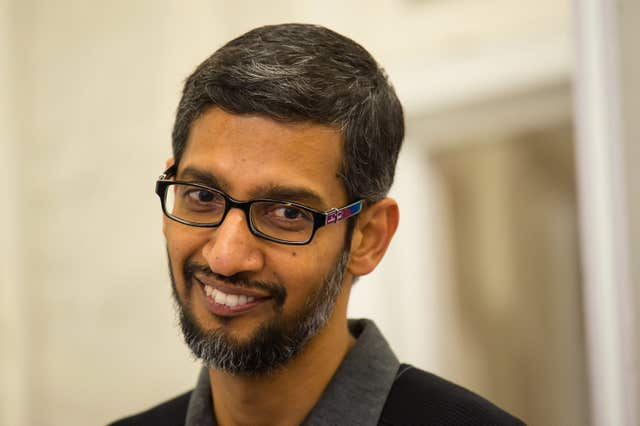 Google CEO visit to UK