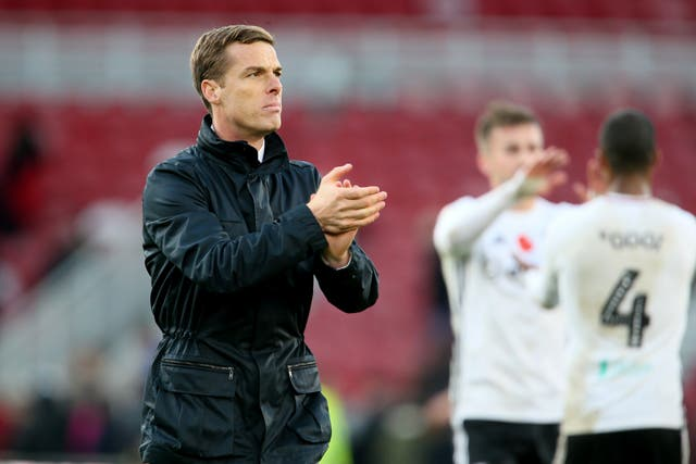 Scott Parker's Fulham are unbeaten in their last seven matches (Richard Sellers/PA).