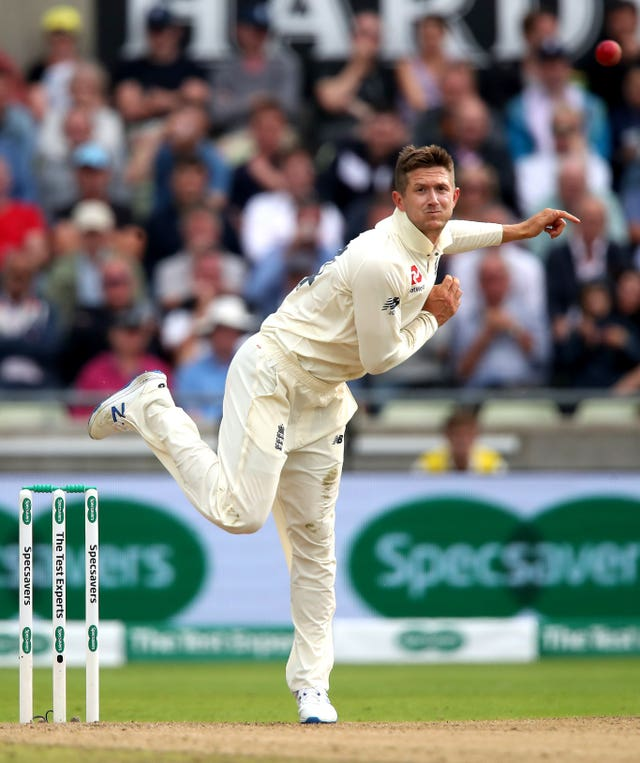 Joe Denly was called into bowling action again at Edgbaston