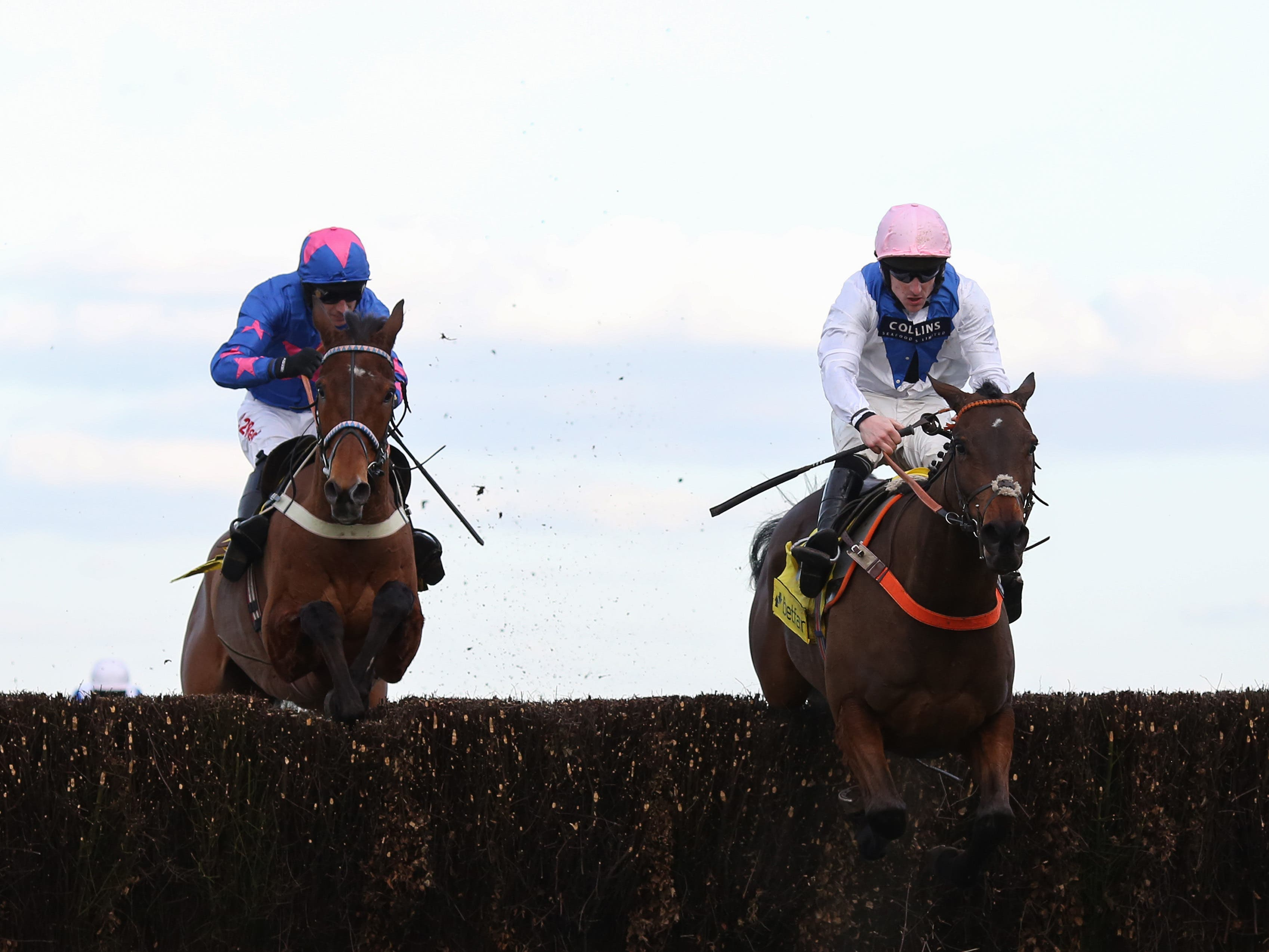Waiting Patiently (right) has been supplemented for the Clarence House Chase at Ascot on Saturday (Julian Herbert/PA)
