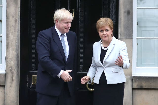 Boris Johnson visit to Scotland