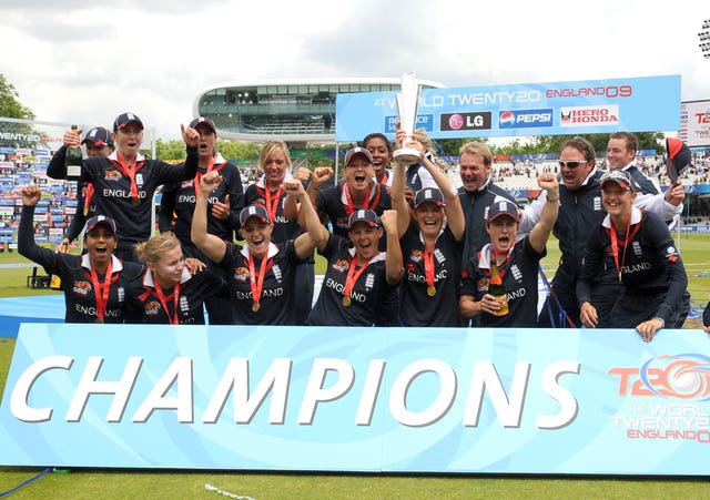 Charlotte Edwards led England to a World Cup double in 2009 (Anthony Devlin/PA)