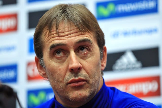 Lopetegui was sacked by Spain on the eve of the World Cup after agreeing to take over at Madrid following the finals.