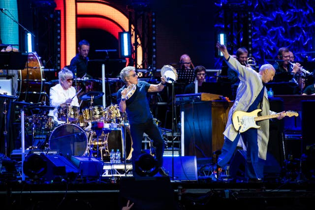 The Who – Moving On tour – London