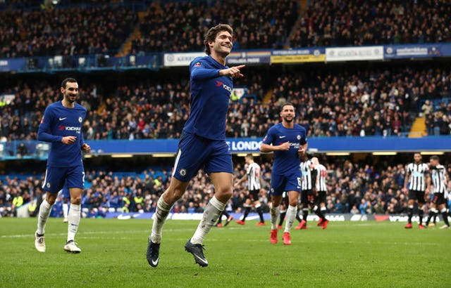 Marcos Alonso is facing a three-match ban after being charged with violent conduct