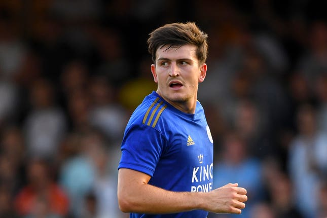 Harry Maguire is heading to Manchester United