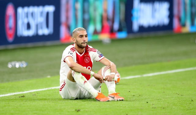 Hakim Ziyech is due to move to Chelsea on July 1