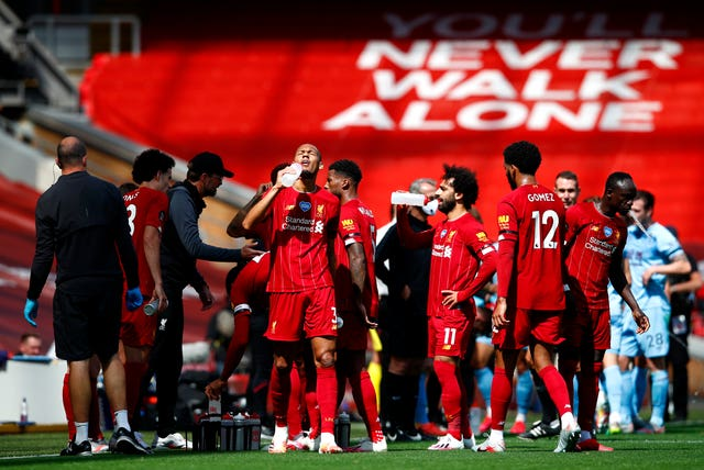 There will no longer be drinks break during Premier League matches next season
