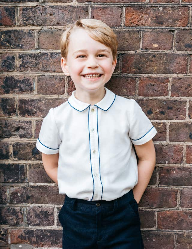 Prince George on his Birthday