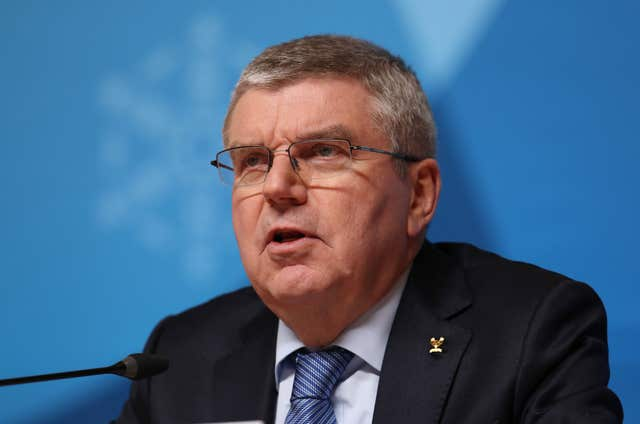 IOC president Thomas Bach said plans for Tokyo 2020 were in their final stages