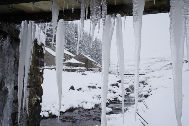 Winter weather Jan 7th 2021