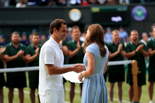 Kate and Federer