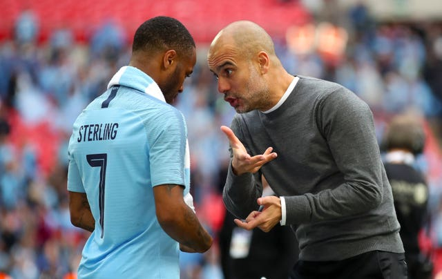 Raheem Sterling is impressed with how Pep Guardiola helps his players