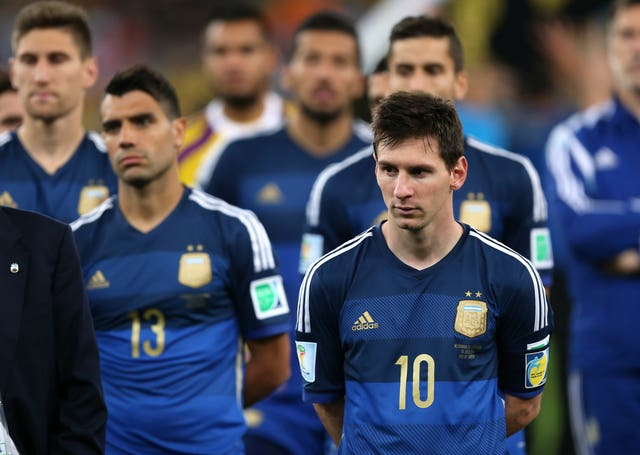 Lionel Messi's Argentina were beaten in the 2014 World Cup final by Germany