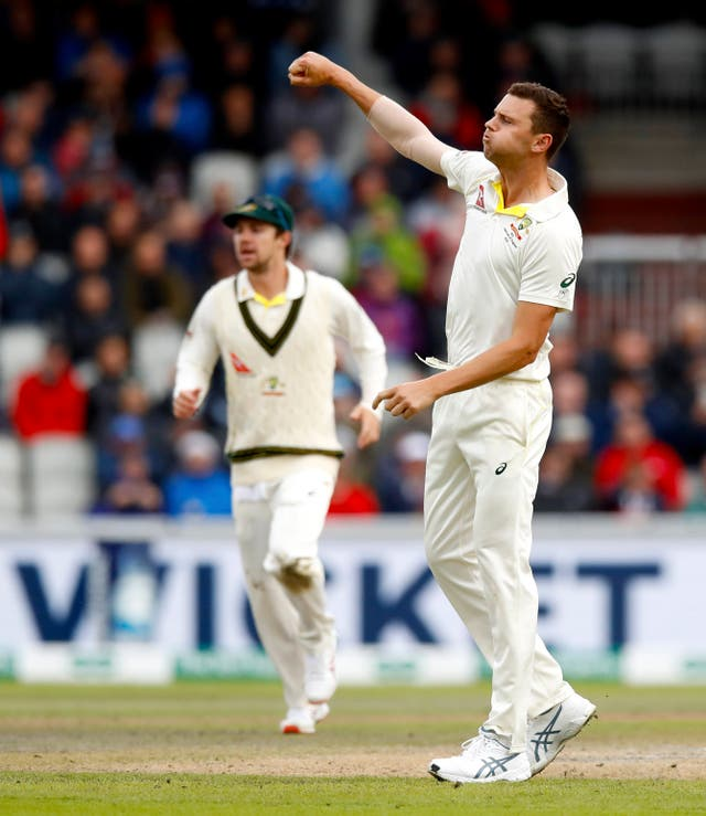 Josh Hazlewood has put Australia in the driving seat