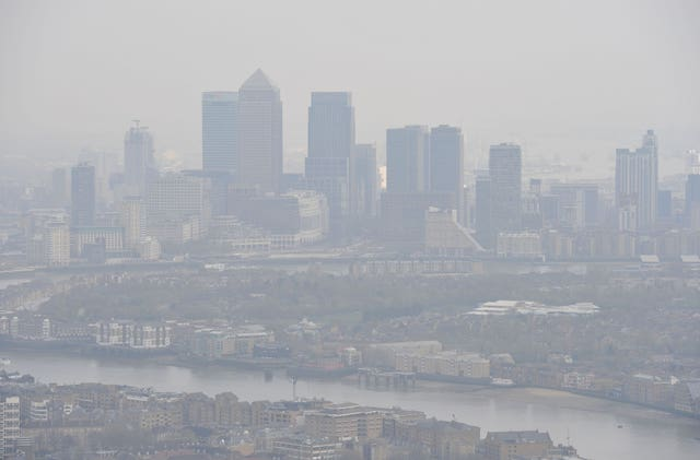 Pollution in the UK