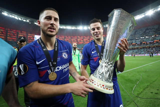 Hazard left Chelsea a serial winner