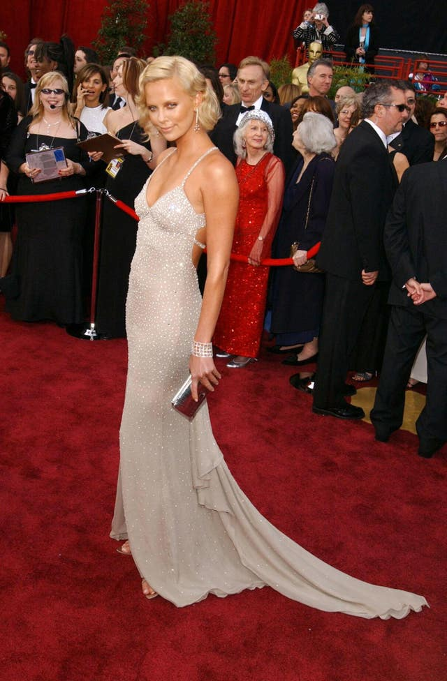 Theron The Oscars 2004