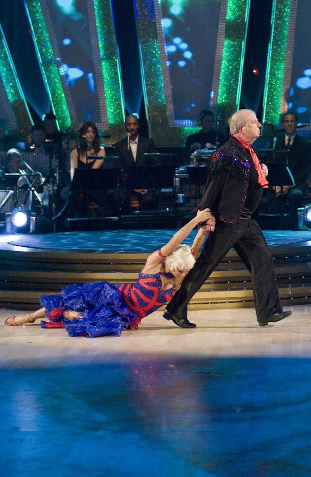 John Sergeant dancing with Kristina Rihanoff on Strictly