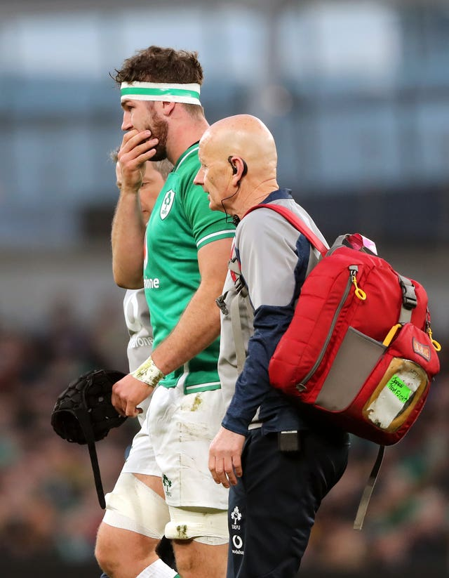 Caelan Doris is expected to be fit to face Wales