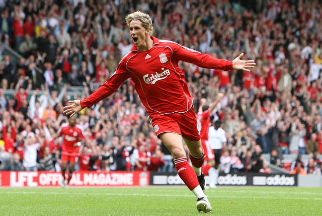 Fernando Torres became an instant fan favourite at Anfield