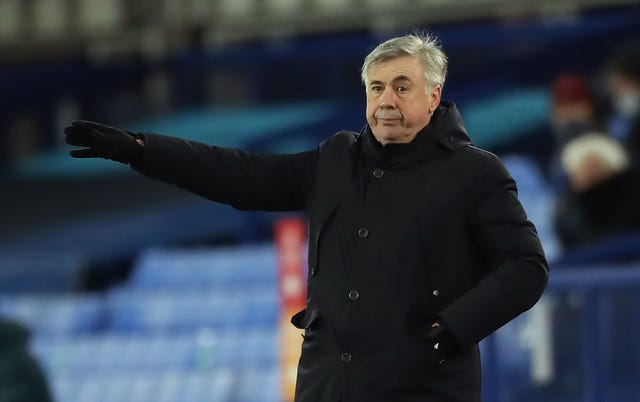 Everton boss Carlo Ancelotti received a call from Guardiola about the situation