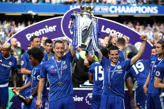He ended his Blues career with a fifth Premier League title