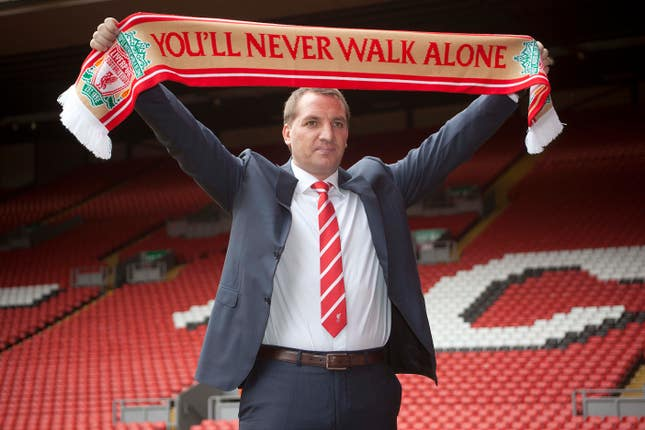 Brendan Rodgers was appointed as successor to Kenny Dalglish