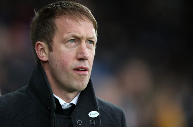 Graham Potter was appointed by Swansea last summer