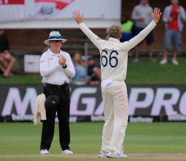 Joe Root took four wickets against South Africa in the third Test